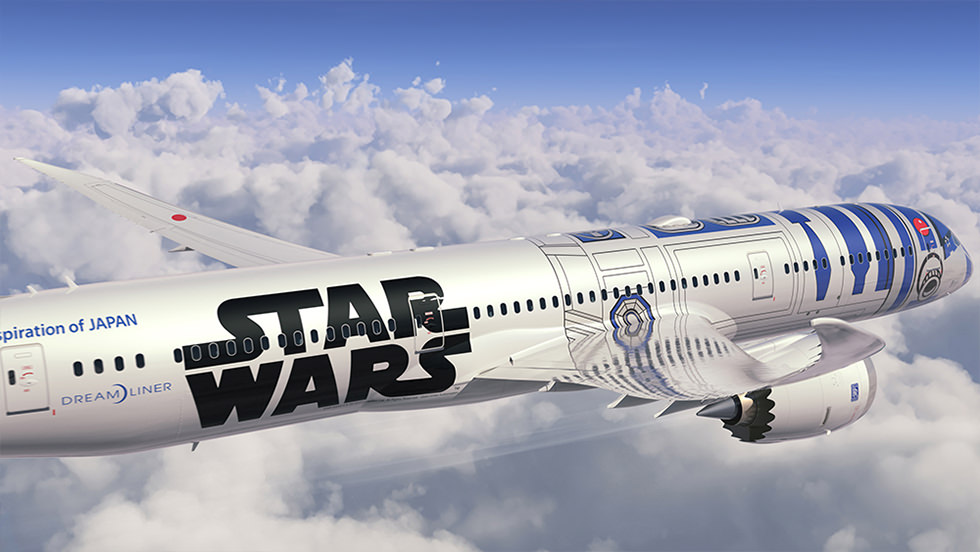 Star Wars Boeing-787 Dreamliner